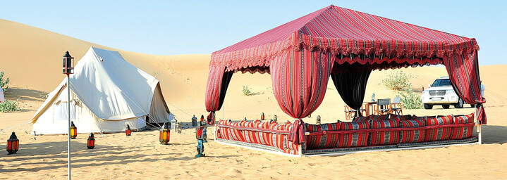 Canvas Club Glamping Pavillon Oman