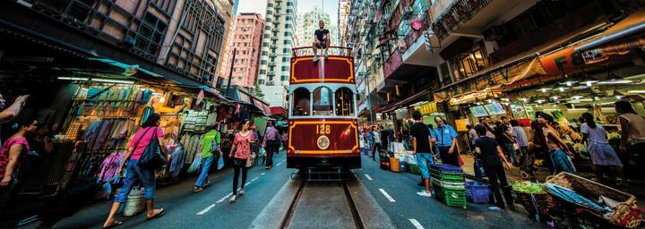Hong Kong Straßenbahn