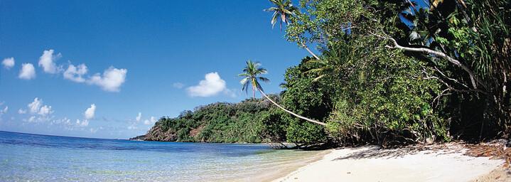 Strand auf den Fiji Inseln