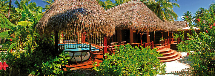 Aitutaki Lagoon Private Island Resort Spa-Bereich