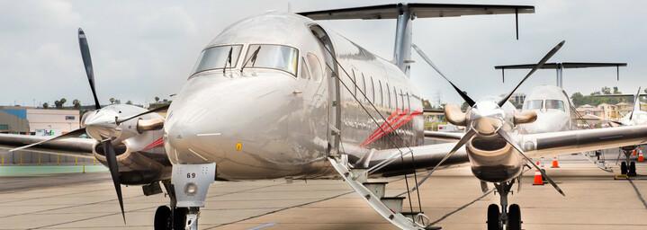 Kleinflugzeug ATI Air Tours
