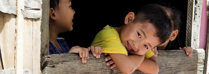 Kinder in Vietnam