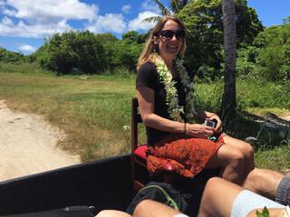 Cook Inseln Reisebericht - Reiseexpertin Jasmin auf Atiu