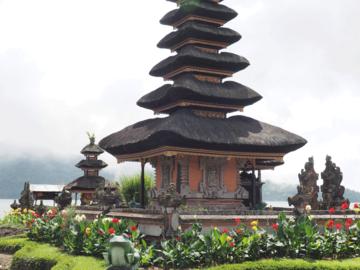 Tempelanlage Beratan Lake auf Bali