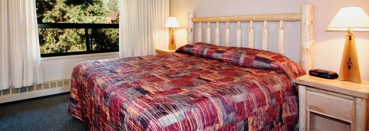 Zimmerbeispiel Marmot Lodge Jasper