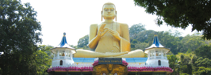 Golden Tempel in Dambulla