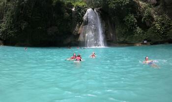 Kawasan Falls auf Cebu