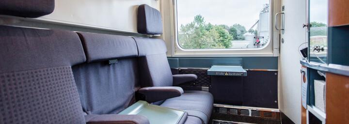VIA Rail The Ocean Sleeper Plus Kabine