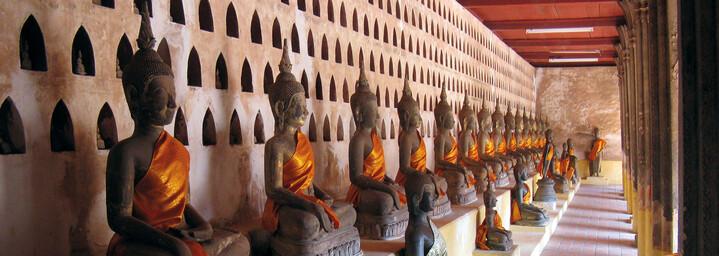 Vat Sisaket Vientiane Laos