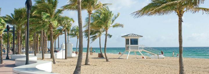 Fort Lauderdale Strandpromenade