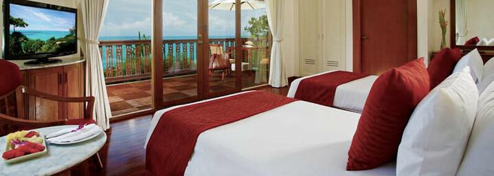 Zimmerbeispiel der Centara Villas Phuket