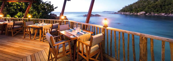 Restaurant des Constance Lémuria Seychelles