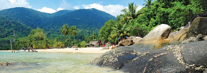 Strand auf Tioman