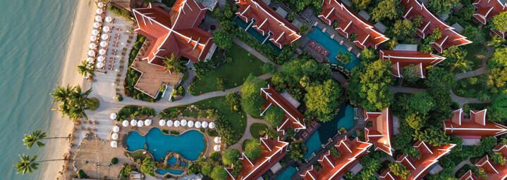 Santhiya Tree Koh Chang Resort von oben