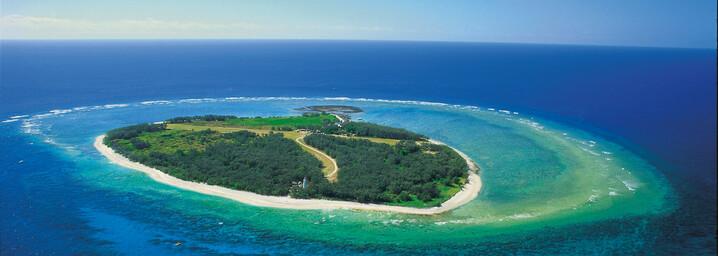 Reisebericht Australien: Lady Elliot Island Luftaufnahme