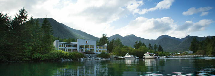 Spirit Bear Lodge Außenansicht