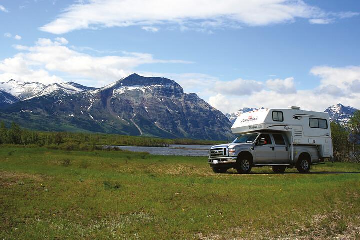 Außenansicht des Maxi Travel Camper TCA