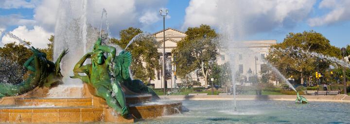 Swann Fountain Philadelphia