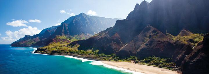 Küste auf Kauai