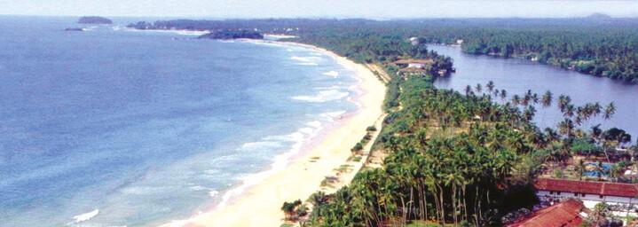 Avani Bentota Resort & Spa - Aerial, Sri Lanka
