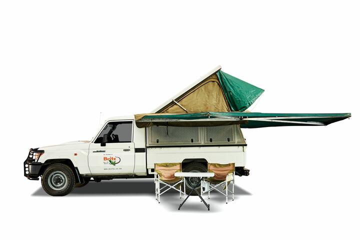Britz 4WD Single Cab Landcruiser
