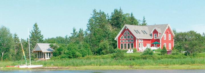 Außenansicht des Little Shemogue Country Inn