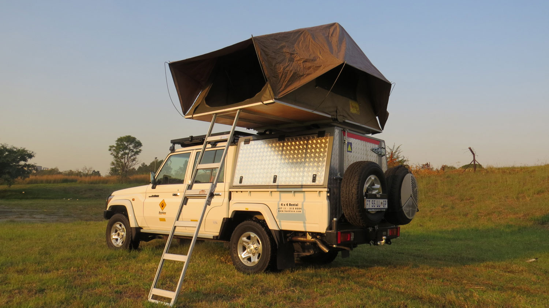 Bushlore Toyota Landcruiser 4x4 mit 1 Zelt
