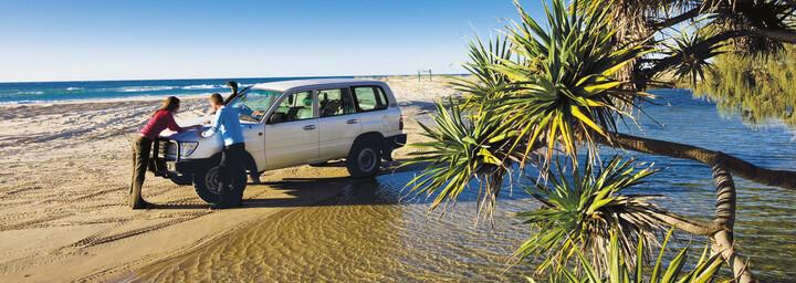 Allradtour auf Fraser Island