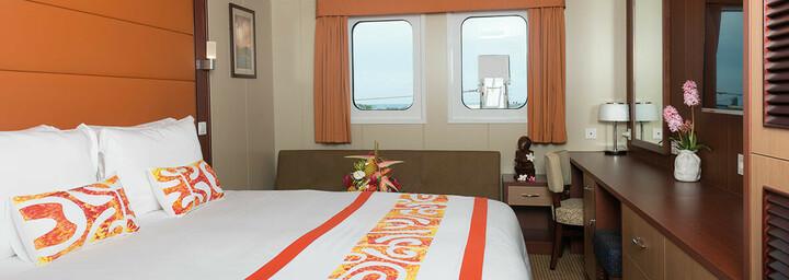 Beispiel Junior-Suite des Kreuzfahrtschiff 'Aranui 5'