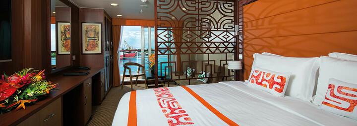 Beispiel Premium-Suite des Kreuzfahrtschiff 'Aranui 5'
