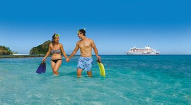 Kreuzfahrtschiff MV Reef Endeavour Captain Cook Cruises