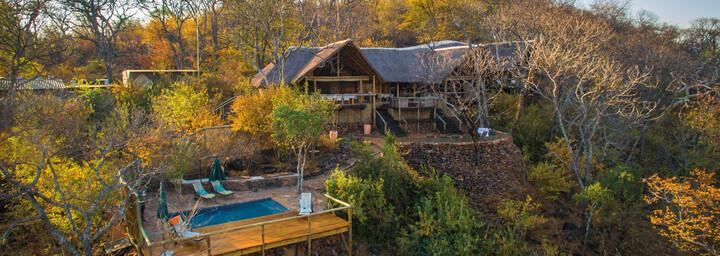 Ghoha Hills Savuti Lodge Außenansicht
