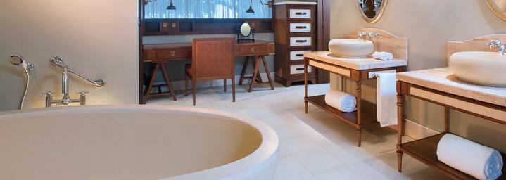 Badezimmer Beispiel St. Regis Mauritius Resort Le Morne