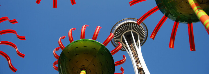 Chihuly Garden & Glass Museum & Space Needle Seattle