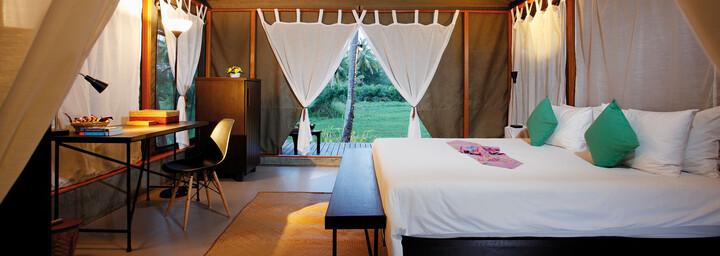 Zelt-Villa Beispiel des Haadson Resort Khao Lak