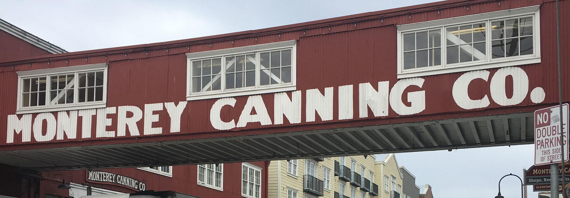 Reisebericht Kalifornien - Cannery Road in Monterey