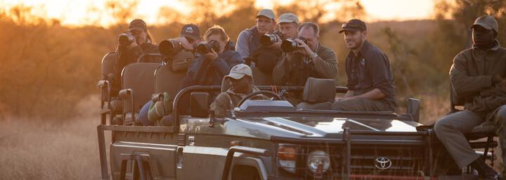 Foto-Safari im Safarifahrzeug