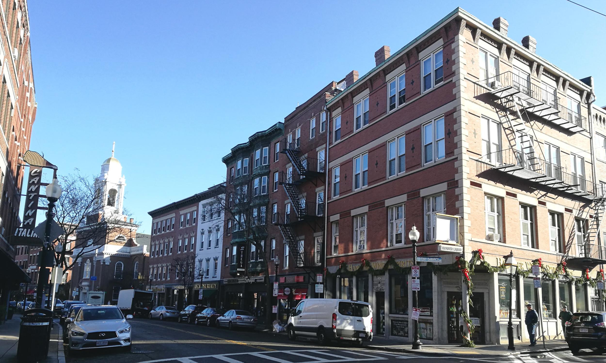 Reisebericht Boston: Hanover Street in Bostons North End