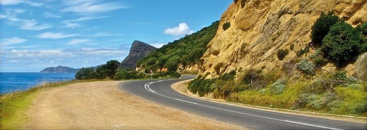 Küstenstraße Südafrika
