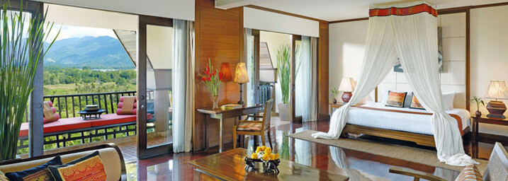 Suite Beispiel des Anantara Golden Triangle Elephant Camp & Resort