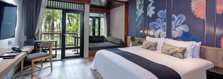 Zimmerbeispiel des La Flora Khao Lak