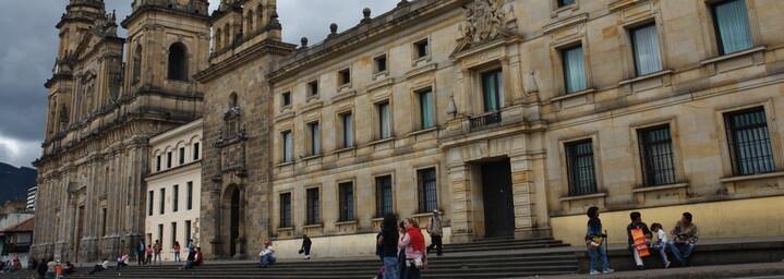 Gebäude in Bogota