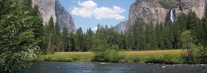 Fluss Yosemite Nationalpark