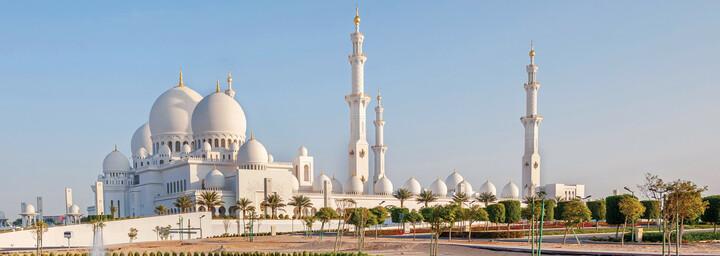 Sheik Zayed Große Moschee Abu Dhabi