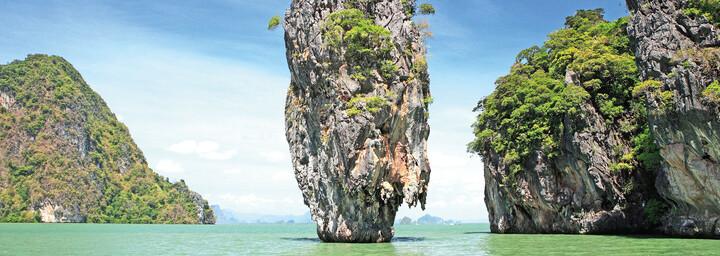 Phang-Nga Bucht James Bond Felsen