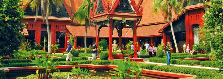Phnom Penh - Garten