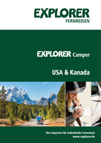 USA & Kanada Camper Broschüre