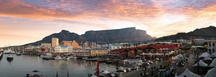 Tafelberg Abenddämmerung Kapstadt