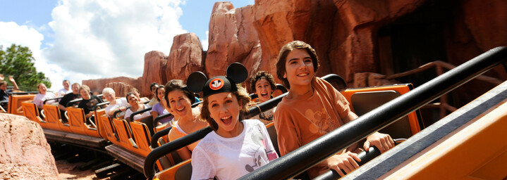 Achterbahn Disney World