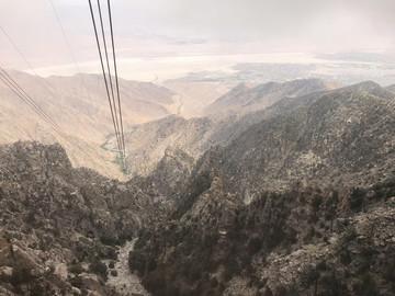 Größte rotierende Seilbahn der Welt - Palm Springs Aerial Tramway